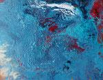 blue motion, Mischtechnik auf Keilrahmen, 40x50 cm, 60 Euro