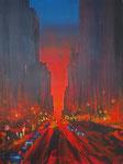 nightmare, Acryl auf Keilrahmen, 60x80 cm, 220 Euro