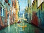 Venedig Canale grande 30x40 cm, 130 Euro ohne Rahmen