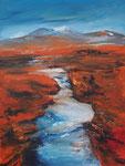 Rondane, Norwegen, Acryl 60x80 cm, vergeben
