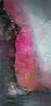 am Abgrund, Mischtechnik auf Keilr. 50x100 cm, 270 Euro