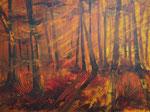 Lichtspiele, Acryl auf Keilrahmen, 60x80 cm, 230 Euro