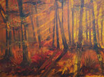 Lichtspiele, Acryl auf Keilrahmen, 60x80 cm, 240 Euro