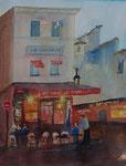 Cafe le Consulat, 31x41 cm, 95 Euro ungerahmt