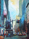 New York fifth avenue, 150 Euro ohne Rahmen