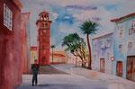 Kirche gemalt von EW