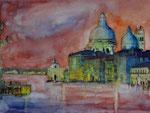 Venedig, Aquarell 30x40 cm, Kursarb. B. Klimmer 150 Euro ohne Rahmen
