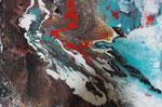 alles im Fluss, Acryl 50x70 cm auf Keilr. , 120 Euro