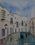 Andalusien, Vejer, 30x40 cm, 95 Euro