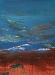 Errosion, Acryl auf Keilrahmen, 60 x 80, Kursarbeit B. Klimmer 150 Euro