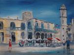 Plaza de la Catedral, Havanna, Acryl 60x80 cm 230 Euro