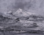 Berglandschaft in Nepal, Acryl auf Keilrahmen, 40x50 vergeben