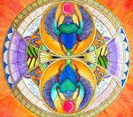 Mandala Scarabées ©B.Dupuis