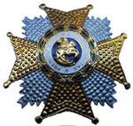 Орден Святого Эрменегильдо за безупречную воинскую службу, учрежденный Королевским декретом от 23.06.2000 года. ЦЕНА 2500руб.