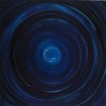 The Unknown - 70 x 70 - Acryl auf Leinwand im Schattenfugenrahmen - verkauft