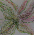 Spring - 50 x 50 - Acryl auf Leinwand  im Schattenfugenrahmen - 220,-