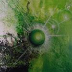 In or out ? - 60 x 60 - Acryl auf Leinwand verkauft -