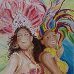 Brazil - 100 x 100 - Acryl auf XXL Leinwand - 520,- Euro