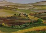 Toskana - 50 x 70 - Acryl auf Leinwand - unverkäuflich