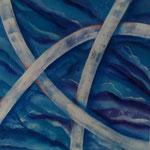Finding Order - 60 x 60 - Acryl auf Leinwand im Schattenfugenrahmen - 150,- Euro