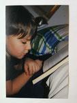 Anton 9 Jahre  Hobby: Lesen, Gitarre spielen - Liest am liebsten Abenteuerromane, spannende und phantastische Bücher