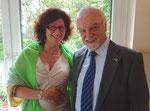 Präsidentin Kirsten Müllejans und Vizepräsident Dr. Walter Best