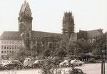 Rathaus und Salvatorkirche von der alten Post aus gesehen
