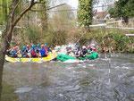 abordage rafting