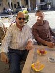 With Salvatore Sciarrino, Città di Castello, Summer 2016