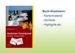"""Buch-Illustration für """"Austalien Tourenplaner"""" BOD Selbstverlag"""