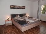 Schlafzimmer der Ferienwohnung/Bedroomof the apartment