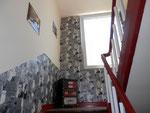 Treppenhaus zur Wohnung/Staircase to the apartment