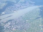 Luftbild Rüdesheim und Bingen, Aufnahme vom Juni 2016