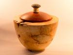 Ahorn-Maser, gestockt; Cocobolo, Keramik