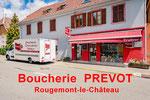 Boucherie Prévot à Rougemont le Chateau (90)