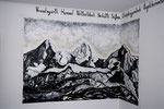 Eiger, Mönch und Jungfrau (Mural painting)
