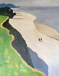 Nach Felix Vallotton, 80 x 100 cm, Acrylfarben auf Keilrahmen, signiert und datiert 2021
