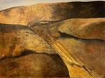 Lanzarote - 1, 60 x 80 cm, Acrylfarben auf Keilrahmen, signiert und datiert 2020