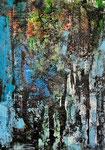 Farbkomposition - 7, 50 x 70 cm, Acrylfarben auf Papier, signiert und datiert 2017