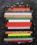 """""""Striping"""" 100 × 120 cm"""