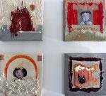 """voorbeelden """"Kleine doekjes"""" 20 × 20 cm"""