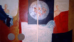 """""""Tweeluik"""" 2 × 100 × 120 cm (verkocht)"""