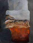 """""""Maskerade"""" 70 × 90 cm (verkocht)"""