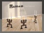 Chandelier ou bougeoir Jumo Doss Human Mobilius design intérieur