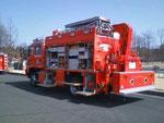 救助工作車の展示