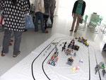 ロボコン世界大会の実演
