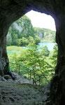 Höhle Schatz im Silbersee