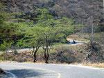 die einzige Zufahrtsstraße nach Taganga