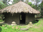 Eine Hütte der Kogi