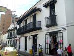 Restaurierte Gebäude in der Calle 17